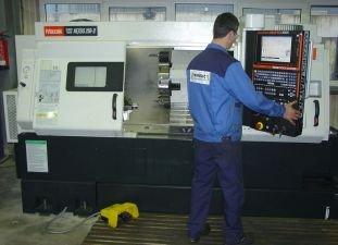 Drehmaschine MAZAK QTN-250-II Matrix 1000 mm Spitzenweite – mit zwei Achsen