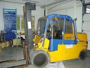 8 Tonnen HYSTER Diesel Gabelstapler
